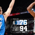 SPURS WIN, 94-76 over the @dallasmavs! http://t.co/dvtsvpR3Ff