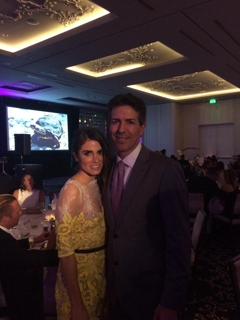Tonight we're celebrating animals and confronting cruelty @humanesociety #HSUSMiami @NikkiReed_I_Am http://t.co/ZLEYP2jRLB