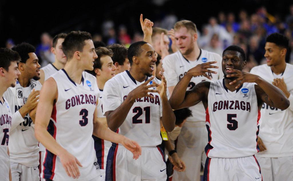Last time I felt this way I was about to graduate from high school. Thx for the memories @GonzagaU #BelieveinZags #99 http://t.co/ytKzOoJvtU