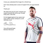 RT @jigsactin: Brendon McCullum you genius #Letter #AUSvNZ