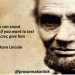 Clearly @ArvindKejriwal fails the character test set by Abraham Lincoln. #AAPKaSting #AAPBreakUp http://t.co/aGiFMfjE06