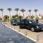 """""""RT@OrlaGuerin: Arrivals at Arab League Summit in Sharm. Critical meeting for Yemen and the region. #Egypt http://t.co/EWpkIw1oke"""""""