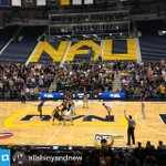 March madness continues! @NAUBasketball survives a nail bitter and beats Kent State in OT. We call that #NAUStrong! http://t.co/dZKTL2uh2G