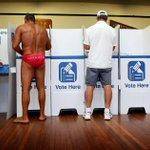 "Straya!  RT""@dailytelegraph: #NSWVotes at #Bondi >> http://t.co/evGdlKafVl http://t.co/XWkXqFe1FZ"""