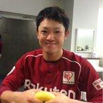 福田選手が2番ライトでプロ初スタメン☆ 「熱〜いプレーをご期待ください!」 #rakuteneagles http://t.co/lKwmsiM2SI