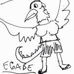 Ide gue untuk monsternya Power Rangers yg baru, namanya EGABE: http://t.co/WJ0sJEe7oi