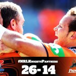 The Knights remain perfect this season after win over Panthers.  #NRLKnightsPanthers http://t.co/fZB12JseVm