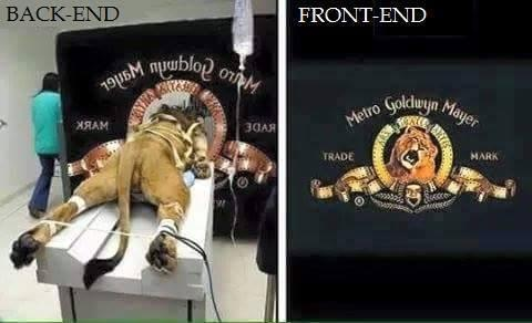 Backend vs. Frontend /via http://t.co/amfByTeQlQ http://t.co/g6ffEN4Aey