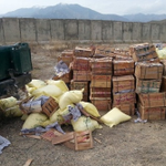 Afghan Border Police has seized explosives was embedded in orange cartons imported from Pakistan. #PAKsupportPeace http://t.co/nJI3ox38R0