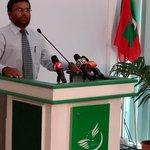 Dheenah huri birakah mi sarukaaru vaathee Islamic Ministry ge State Minister Sh.Mohamed Didi maqaamu dhookollaaifi. http://t.co/nYWlepPQ1g