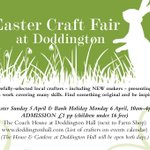 #Craftfair here next weekend #Easter #Lincolnshire #LincsConnect http://t.co/hsOv2eUGBN