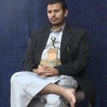 عبدالملك الحوثي جالس في ميناء عدن بعد اجلاء البعثات الدبلوماسية .. سابوني وراحو ???????? http://t.co/24iLfFVIo6