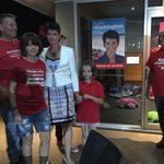 Kate Washington claims victory for the ALP in Port Stephens. #nswvotes #huntervoters http://t.co/rxma7jQ51J