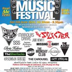 10 weeks today we will be all set to open the gates for the 5th Mosborough music festival #Sheffield #music #Charity http://t.co/wOE2rSRegu