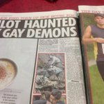 Beware of the gay demons. Apparently they make you crash planes http://t.co/Z9qyg2Uyu7