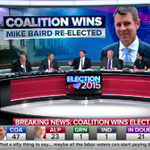 UPDATE: Coalition to form majority gov with 47 seats so far. @NSWLabor currently with 23 seats. #NSWvotes #9News http://t.co/tWCd6Gfgez