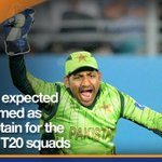 #Sarfaraz to be named ODI, T20 vice captain: sources http://t.co/Pd9nIhYpGF http://t.co/47HCDnnvS6