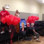 Yasmin Catley claiming victory in #Swansea - lots of supporters @nbnnews #nswvotes http://t.co/c1CS8tEvku