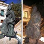 No tardan ni doce horas en romper la estatua de Jairán http://t.co/2W7hIeMK8q #Almería http://t.co/fadRdrCuej