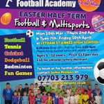 Not long till the Easter multisport camp at Lytham highschool http://t.co/2YKS3bEauA