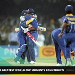 #SL stunned the world by winning the CWC 96 title. Vote for #LionsHeart as greatest moment: http://t.co/JoDWCEMWN0 http://t.co/X29FOmyUqO
