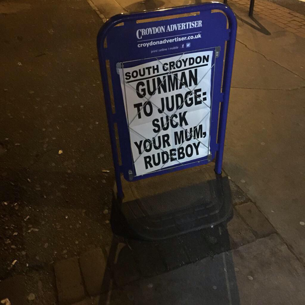 Honourable mention for this Croydon headline: http://t.co/0bwrwv3IZo