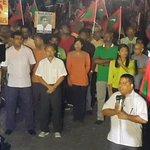 Hingaalun feshigen kuriyah #InsaafugeMagah #GaumeeHarakaaiy #AniyaaVerikamaaDhekolhahDhivehin #FreePresidentNasheed http://t.co/GruKoFyjl1