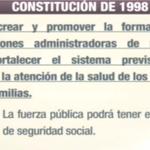 .@MashiRafael da lectura a la Constitución de 1998 y la Ley de Seguridad Social de 2001 #Enlace417 http://t.co/2FPHh8stlC