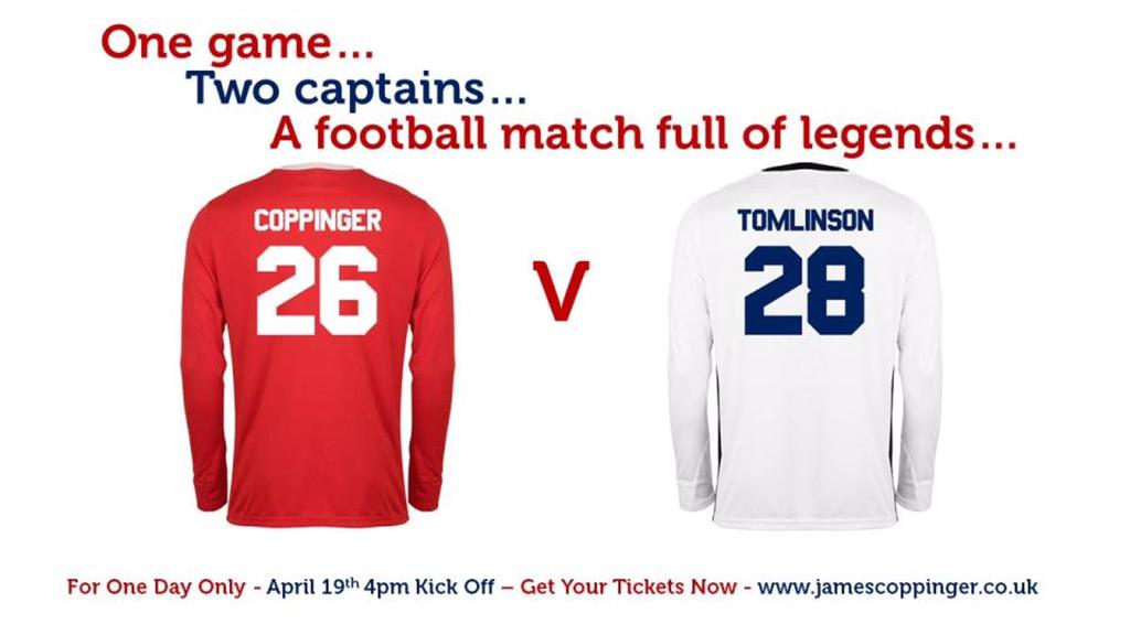 RT @Louis_Tomlinson: Buzzing to be playing in this game for Copps ! For tickets go to http://t.co/MXemJhAm08 http://t.co/uQ7KPjCTpo