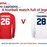 Buzzing to be playing in this game for Copps ! For tickets go to http://t.co/MXemJhAm08 http://t.co/uQ7KPjCTpo
