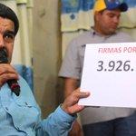 ¡NO SE LO CREE NADIE! Maduro: Ya superamos 4 millones de firmas contra decreto de Obama http://t.co/s5dyOrKOni http://t.co/gDUwTbrnmz