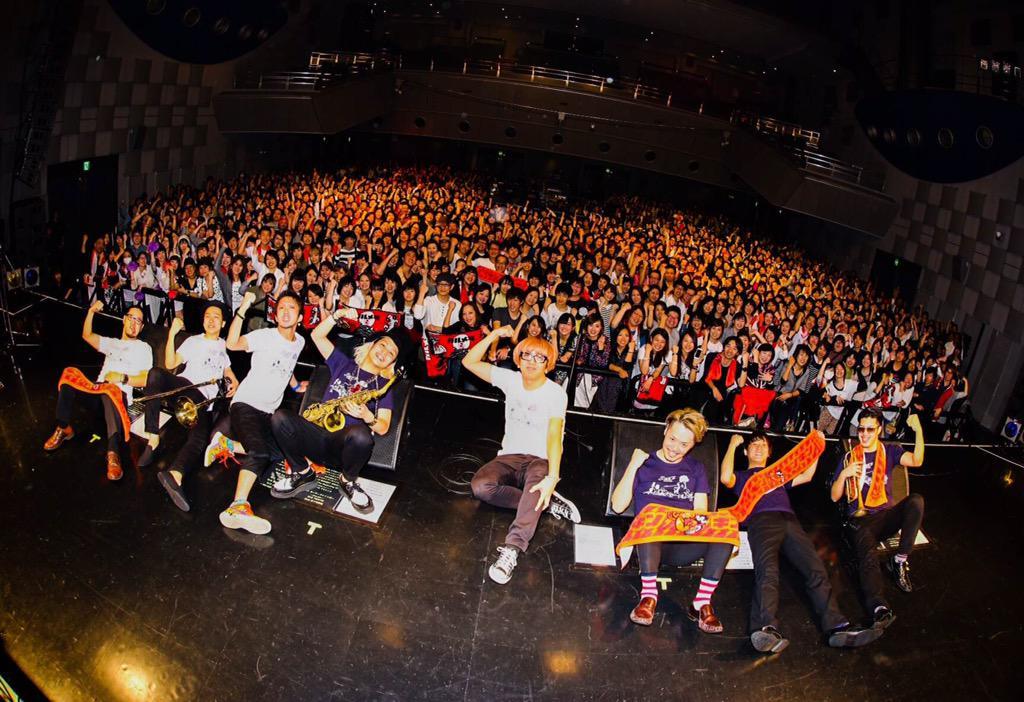 なんばギンギン大作戦~カルメラが8周年だョ!全員集合~@大阪・なんばハッチ。超満員!心から御礼申し上げます!ありがとうございました!!! http://t.co/XO8a97ydo9