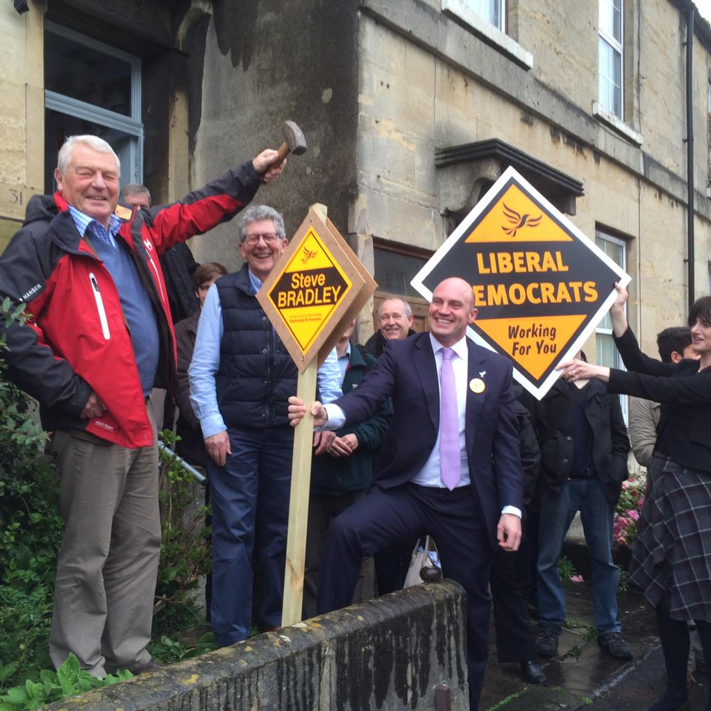 @paddyashdown launches the #KeepBathLiberal campaign with @bathnesld @bradley_steve and @paulncrossley http://t.co/oRQJ93512d