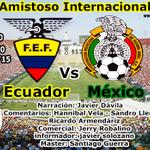 Hoy previa #Ecuador Vs #México por @RadioHuancavilk transmisión en vivo. http://t.co/6r1W8glXWE