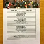 Team check. Todays @premrugby team sheet #tigerslive http://t.co/noDNoOuZZw