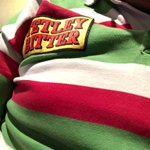 Gone for traditional today!! Come on you tigers!! #TigersFamily #Tigersfamily @LeicesterTigers 5 points please. ???????????????? http://t.co/oEpxK9MSia