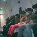 @capsciences Yen a qui rêve en apesanteur grâce aux occulus rift du simulateur avec @AliceOdyssee #favMW #MuseumWeek http://t.co/lnszB4Z0B9