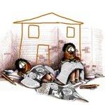 """""""Racismo no está es un dibujo pero violación al derecho a vivienda sí está en desalojo"""" #TrinitariaEnPaz #Enlace417 http://t.co/Sni0tEcTff"""