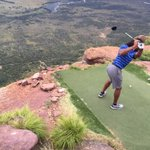 """Thats crazy RT @LarryFitzgerald: Extreme 19th hole at Legends course in South Africa. Longest par 3 in the world http://t.co/NeI6G1xBqP"""""""