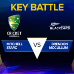 Will Starcs express pace and swing be too much for McCullum? Or can Baz deliver for NZ when it matters most? #AUSvNZ http://t.co/XqvmcByoZZ