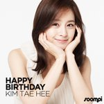 Happy Birthday to actress #KimTaeHee! Celebrate by watching her on SoompiTV! http://t.co/M0GLylTJ5L http://t.co/4kLQLnQM7W