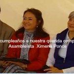 #Felizcumple @XimePonceLeon desea nuestro Pdte. y todos quienes la queremos #Enlace417 #HablandoLaPlenaComoElMashi http://t.co/wYVMskgdA1