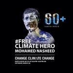Free Climate Hero NOW #FreePresidentNasheed #EarthHour2015 #EarthHour #Maldives http://t.co/zFU03GW2cJ