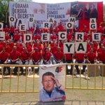 Así avanza en #Trujillo Gran Firmazo en contra de la injerencia de EEUU #TuFirmaXLaPatria @ObamaDerogaYa Acércate!!! http://t.co/HXLaxnsYXM