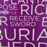 Amused to find this on the #RichardIII displays in #Leicester given one of his injuries... #richardreburied http://t.co/OP2NhKqCqk