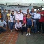 Presidente y trabajadores de Lacteos del Alba #ObamaDegoraElDecretoYa en Barinas http://t.co/6AFeY26IkC