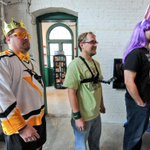 So, guy with @ydrcom @GoPro on chest is the LEAST strange in line @WolfgangCandyCo bunny eating challenge? Video soon http://t.co/GmGSf6bUnA