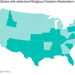 19 states that have 'religious freedom' laws like Indiana's that no one is boycotting. http://t.co/DZpPniocaj http://t.co/fCt6gOg2fZ