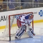 RT @NYRangers: #NYR @HLundqvist30 warming up in net! http://t.co/2Hd0GXZmkb