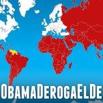En UNA SOLA VOZ países del mundo apoyan a VENEZUELA!!! #5MillonesContraElDecreto #ObamaDerogaElDecretoYa @anat5 RT¡ http://t.co/BqbNt4aTTo